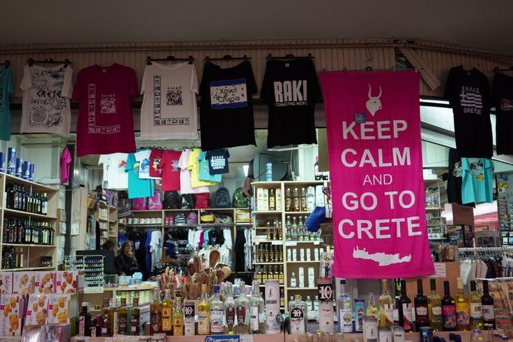 Keep calm & go to Crete