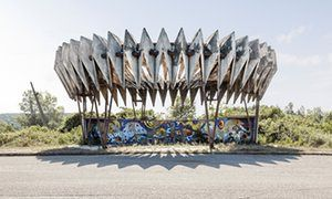 Behind the iron curtain, the roadside was where architects could really let rip…