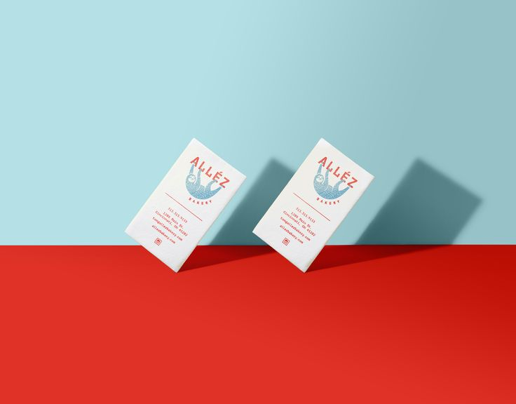 Allez Bakery Business Card Design
