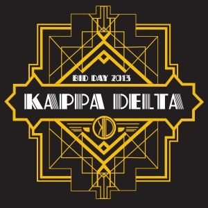 Awesome sorority bid day t-shirt designs from SororityBliss.com! Kappa Delta!