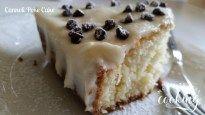 Cannoli Poke Cake #SundaySupper