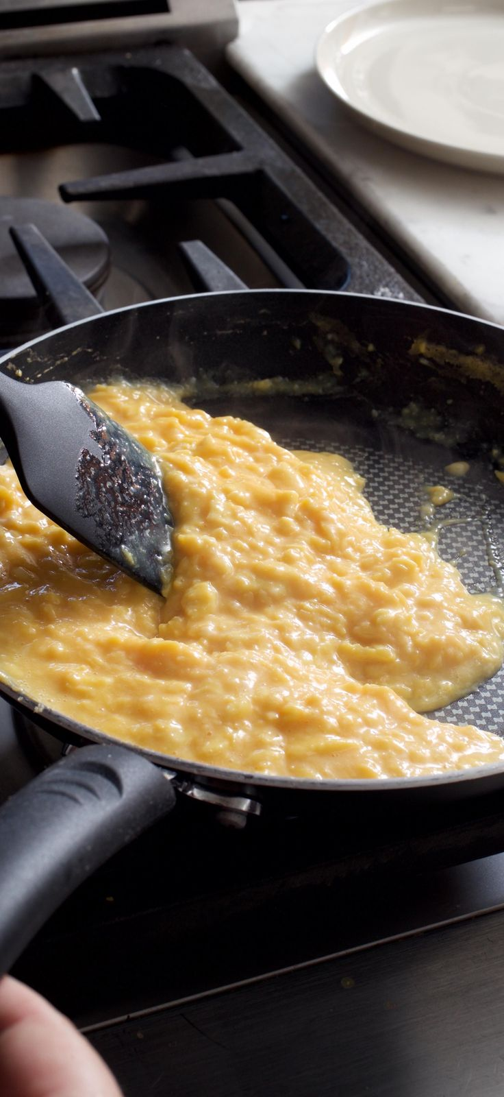 Creamy French-Style Scrambled Eggs. For incredibly lush and creamy eggs, the key is to take things slow.