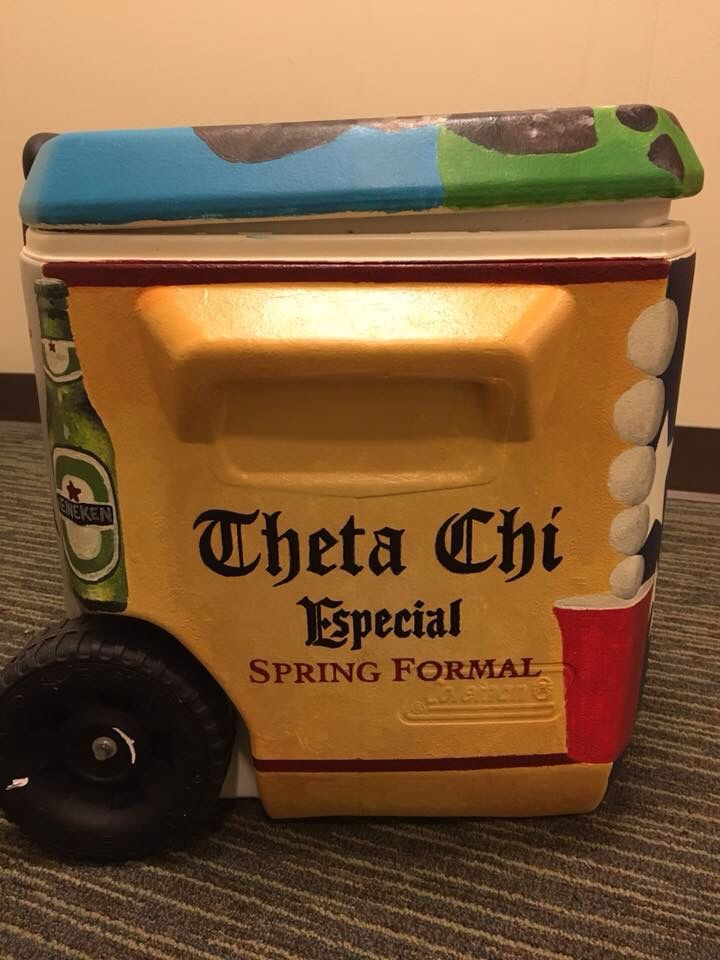 theta chi alcohol formal tequila fraternity cooler