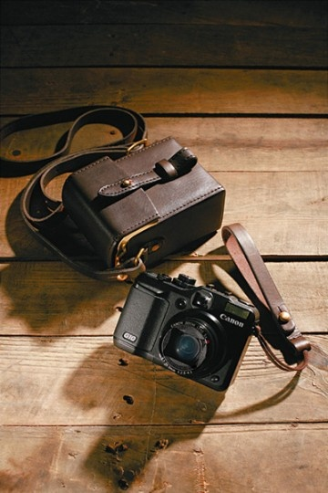 Mihara Yasuhiro Camera Case for Canon G Series. Buy yourself a Canon G Series and this case and you're set.