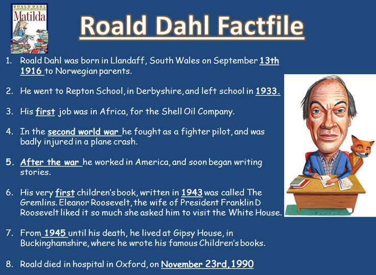 Roald Dahl: children's fiction project - A range of resources designed to explore what makes Roald Dahl's work so loved by millions of children, exploring character, language features and vocabulary.