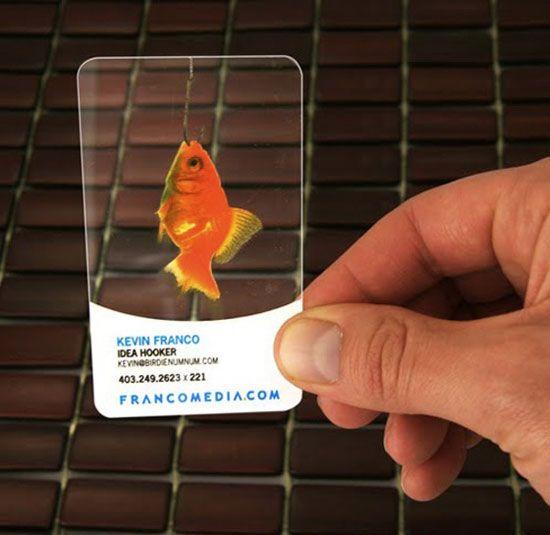 30 Transparent Business Cards