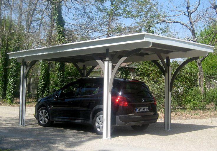Carport et abri voiture en bois Idées véranda, Voiture