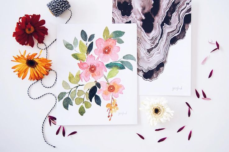 Lovely art prints to class up any space