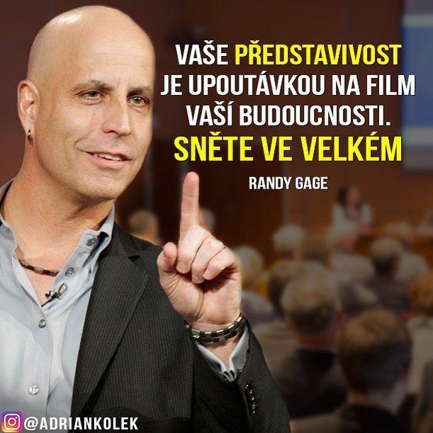 """438 Likes, 5 Comments - Adrian Kolek - Tvůrce Projektů (@adriankolek) on Instagram: """"Randy Gage poprvé v Praze! 24.09.2016 -------------------- Zvýhodněný kupon: -50%, KÓD: business244…"""""""