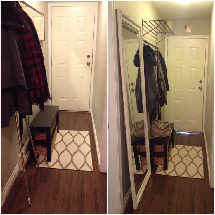 My Small And Narrow Hallway Before And After Ikea Lack