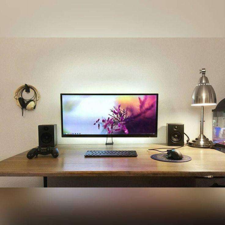 517 besten awesome pc setup bilder auf pinterest for Gute schreibtische