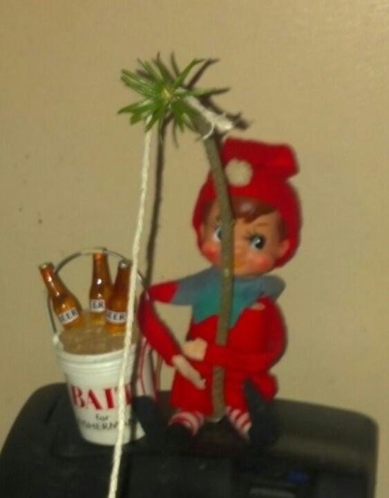 Damn Drunk Elf Strikes Again Its Beginning To Look A