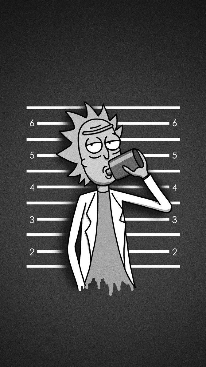 rick_and_morty_rick_mug_shot_iphone_wallpaper_by_k0626089-d8xra35.jpg (671×1192)