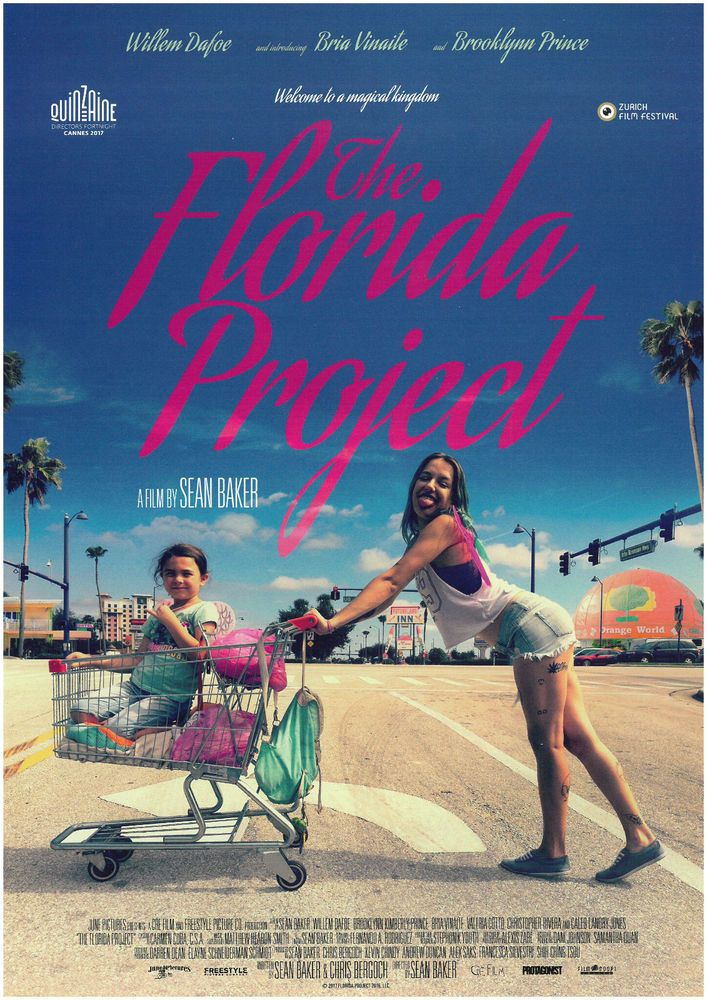 THE FLORIDA PROJECT - 2018 - ORIG. FILMPOSTER A4 SEAN BAKER