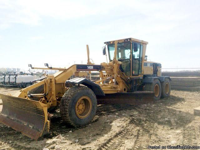 2007 Used Cat 140H Grader APM03557Maker Caterpillar Heavy Equipment Hours 11800 Year 2007 Price US$ 96,000/- Location Houston, Texas Machine Condition Cab, 14' Moldboard with Extentions, To 16', Front Plow + Snow Equipment (Would be Removed by Customer), 1700 Rear Tires Almost New.Call 281-531-1515 for more info.Samad Yazdani Domestic & International Sales sam@micoequipment.com Fax:+1-713-583-0244https://www.micoequipment.com/motor-graders-for-sale/mo...