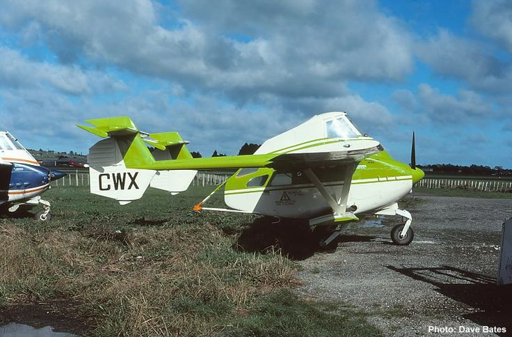 QAM AIRCRAFT COLLECTION, Transavia PL-12 Airtruk ZK-CWX c/n 818 taken 12/6/80 at Ardmore, NZ by Dave Bates.