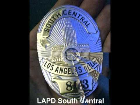 Collection of the most wanted police badges ( FBI, DEA, LAPD, NYPD, Mars...