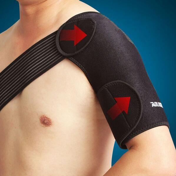 Handise Shoulder Sleeve Brace Shoulder Protector Support High Elastic Posture Corrector de postura orthotics Men Women