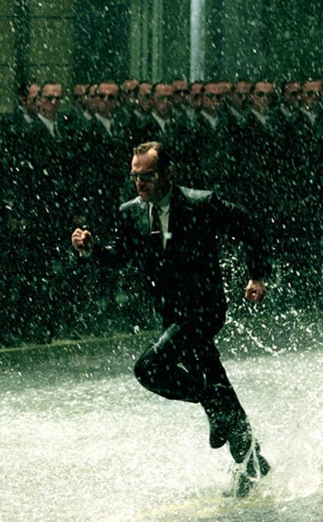 Agent Smith---so many smiths!  <3<3