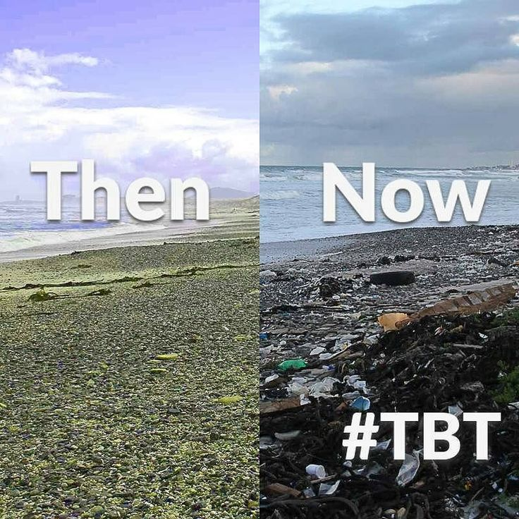 Beaches used to be more than were ocean and land meet they were where people met good times. Now they've been over taken by trash #tbt #throwbackthursday #beach #EarthIsMoreThanJustDirt
