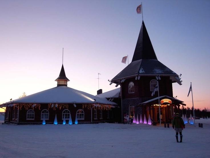 Christmas House, Santa Claus Cillage, Arctic Circle