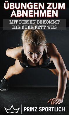 Übungen zum Abnehmen: Die 16 effektivsten – Tanja Striegel