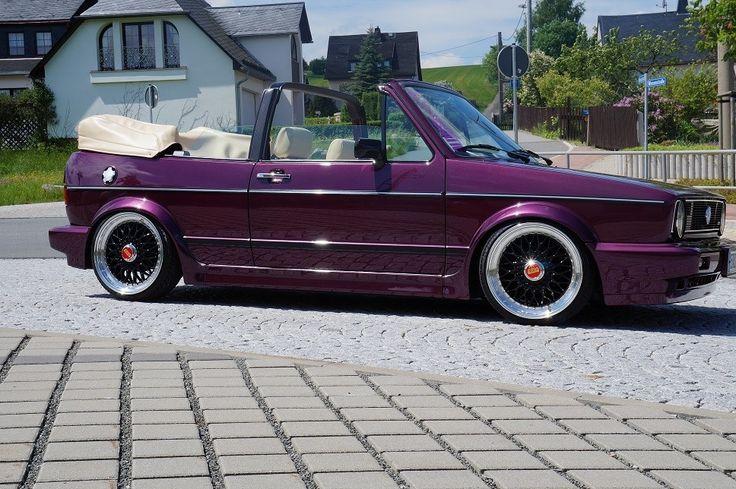 VW Golf 1 Cabrio / Irgendwann, wenn ich meinen Führerschein habe, wird das mein Auto sein!!!