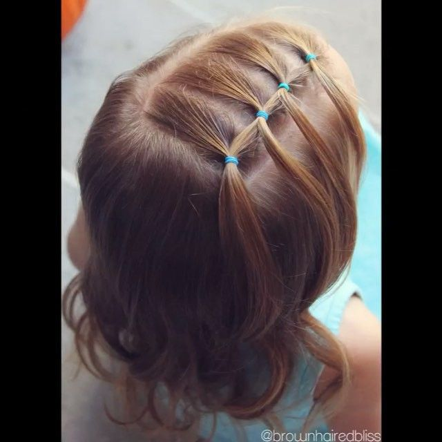 V I D E O • Feathered Elastic • Link to FULL tutorial is in my profile ⤴️ • I…