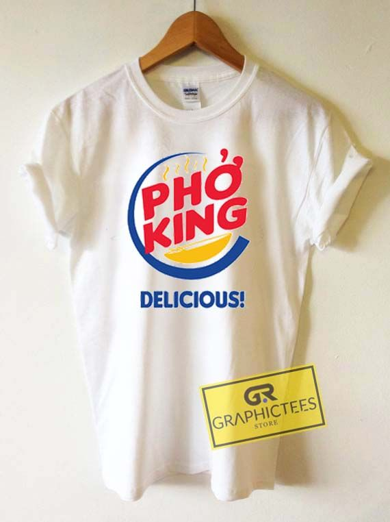 Pho King Delicious Graphic Tees Shirts //Price: $13.50 //     #graphic tees for men