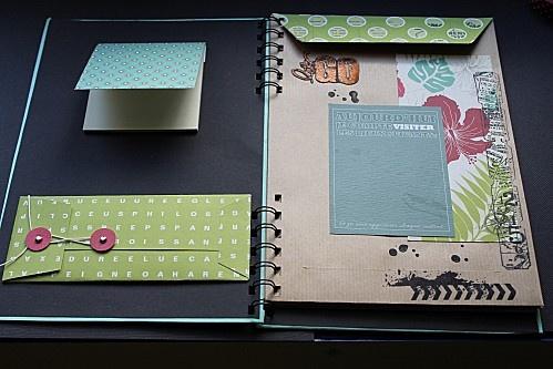 road-book à partir d'enveloppes A5
