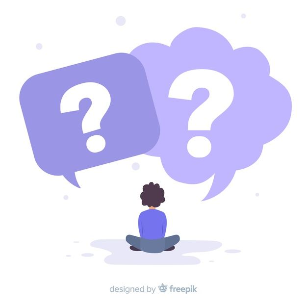 Download Speech Bubbles With Question Marks For Free In 2020