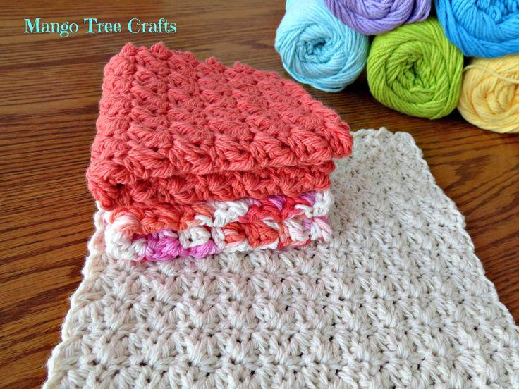 Easy Crochet Dishcloth/Washcloth Pattern