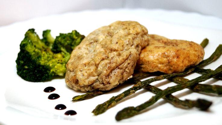 Диетические котлетки из белой рыбы и белой фасоли - правильный обед (диетические панини/бурито/тортильи) - Полезные рецепты - Правильное питание или как правильно похудеть