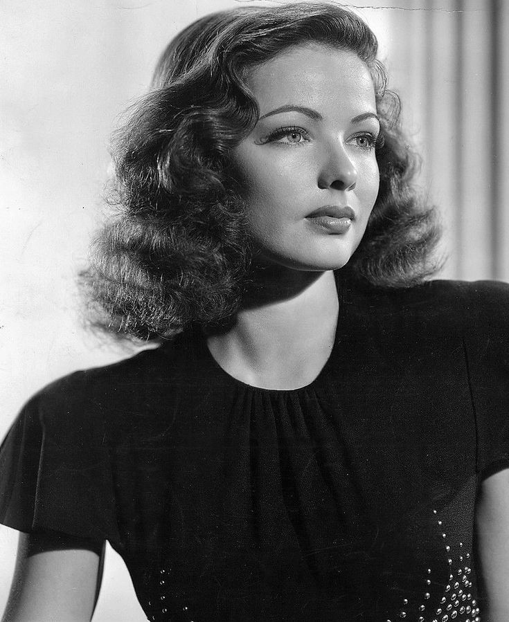 Gene Tierney, 1941 - I dont want realism. I want magic.