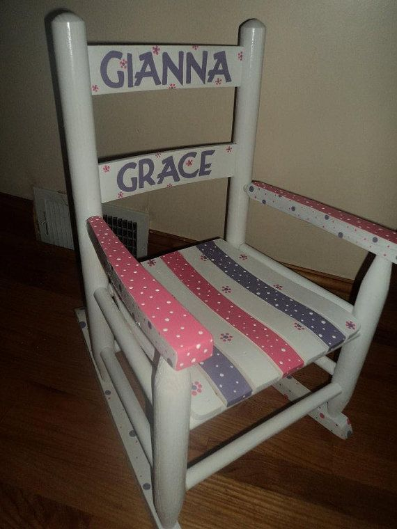 Childu0027s Rocking Chair Small Rocking Chair Kids Rocking Chair Personalized  Wooden Rocking   Amazing World Of Images
