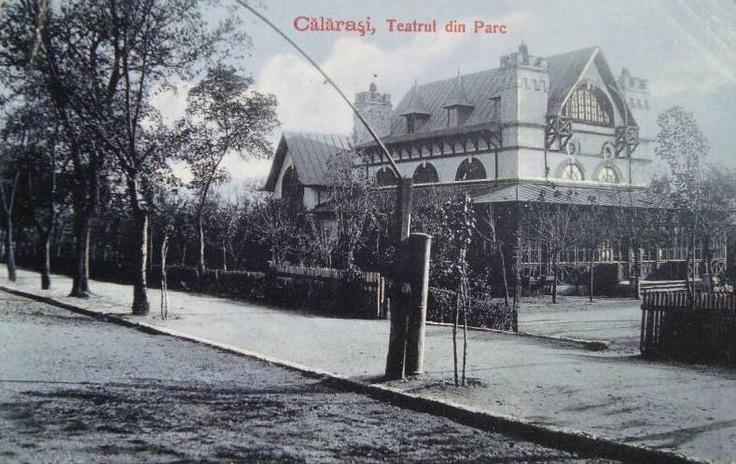 Calarasi, Teatrul din parc anii '20