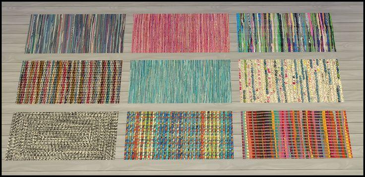 My Sims 4 Blog Braided Rugs By Tacha75 My Sims 4 Blog