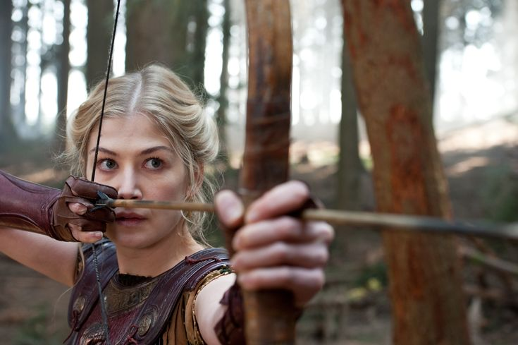"It's bow season. ""Brave"", ""The Hunger Games"", ""The Avengers"" and now Rosamund Pike in ""Wrath of the Titans"""