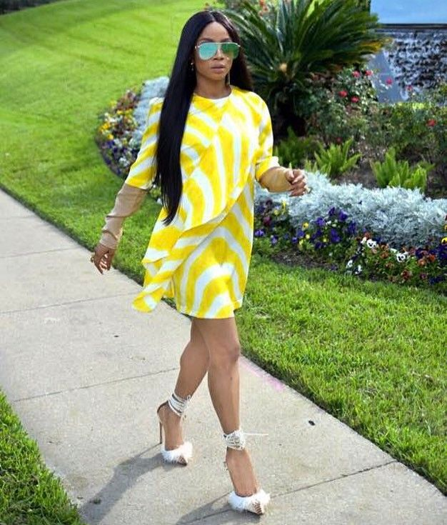 Toke Makinwa On Instagram Day 2 Look Interview Number Onbecominginhouston Onbecomingmedatour Styled By Remifagbohun In Justcavalli Official