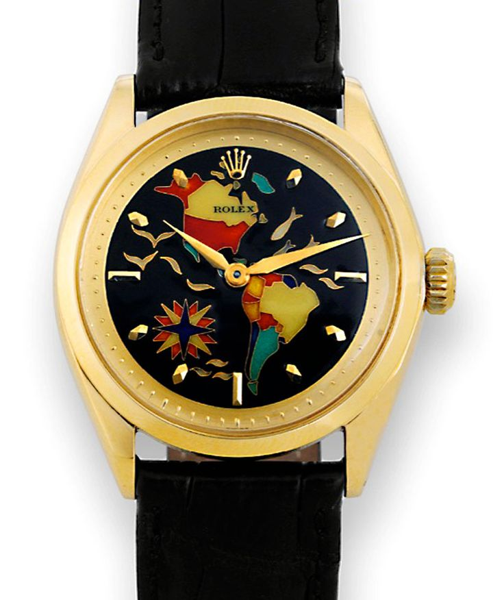 Welcome To RolexMagazine.com...Home Of Jake's Rolex World Magazine..Optimized for iPad and iPhone: Rolex Cloisonné World Dial Sets Record Antiquorum Auction Sold for $722,000!!!