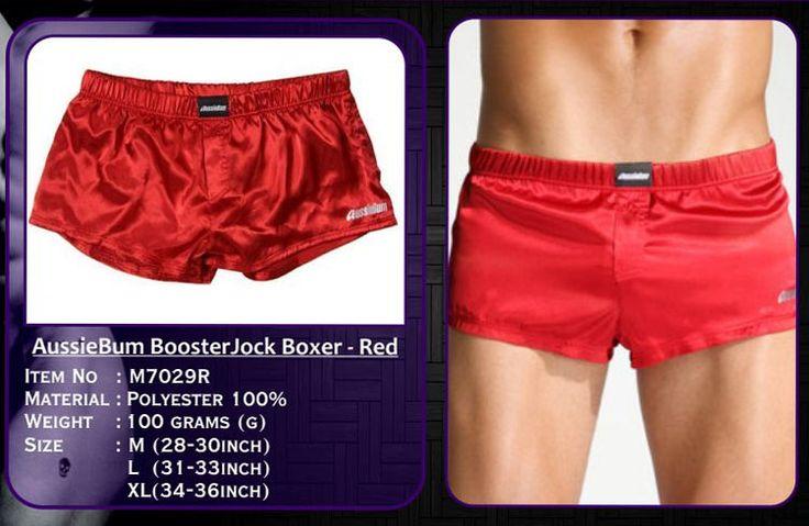M7029R – AussieBum BoosterJock Boxer – Red