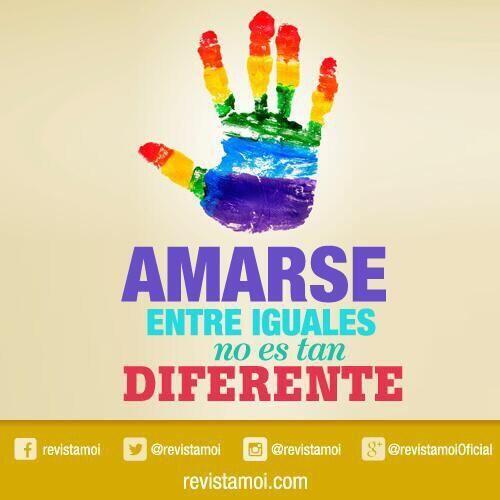 Buen fin de semana Hoy Internacional contra la homofobia. pic.twitter.com/RopMxOiKMe
