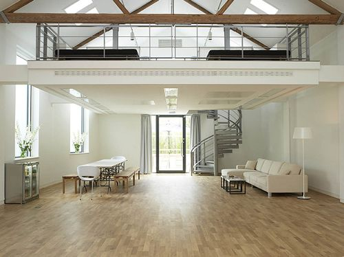 163 best images about skylights in architecture on for Open concept loft