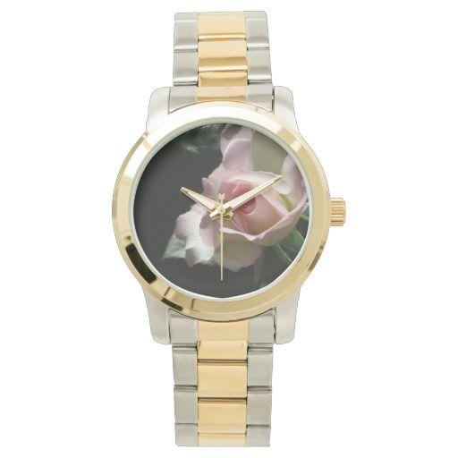 Pink Wedding Rose wrist watch