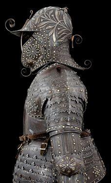 Roi Louis XIII of France & Navarre's Armor (1034s H Armor; Latin; Royaume de France) (Musée de l'Armée) #KingdomofFrance #King