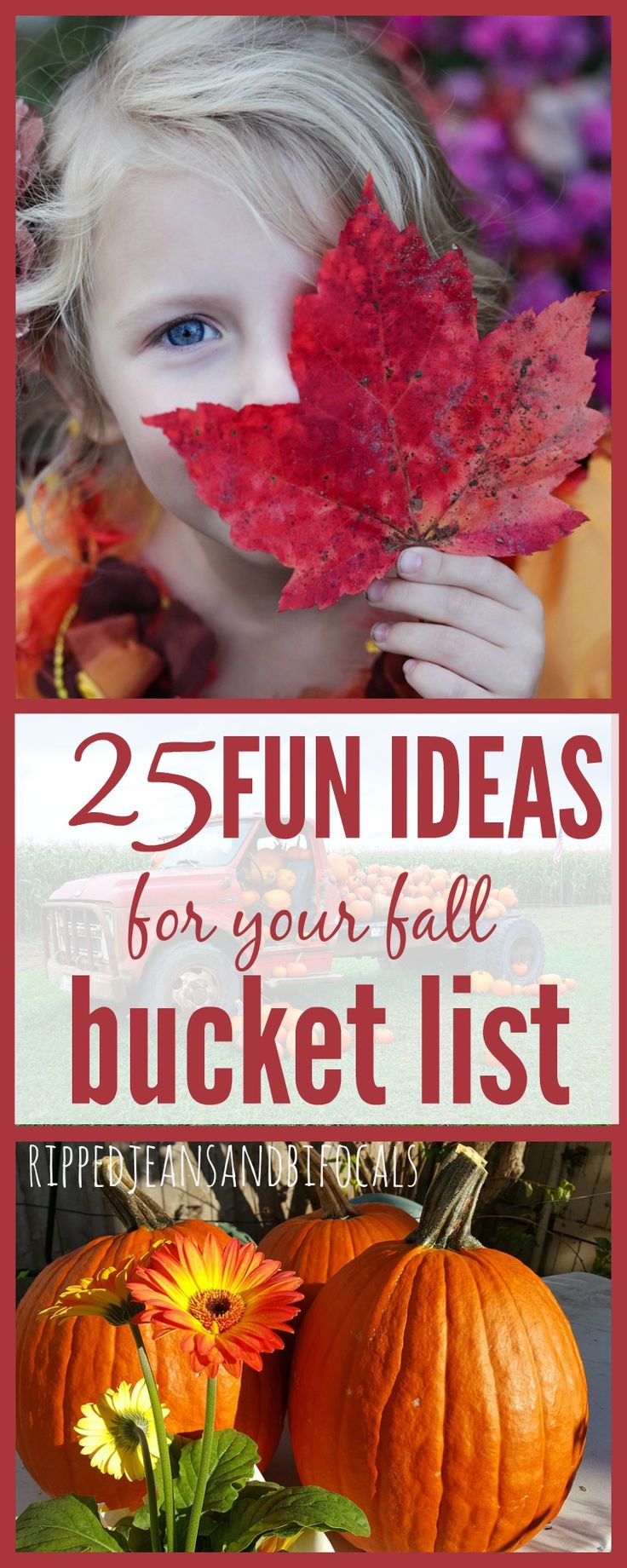 Fall Family Bucket List Ripped Jeans and Bifocals  Bucket lists fall bucket lists activities to do with kids in the fall fall activities for kids family activities for fall pumpkin patch locations corn maze locations Halloween craft ideas easy Halloween crafts fall recipe ideas fall decorating ideas 