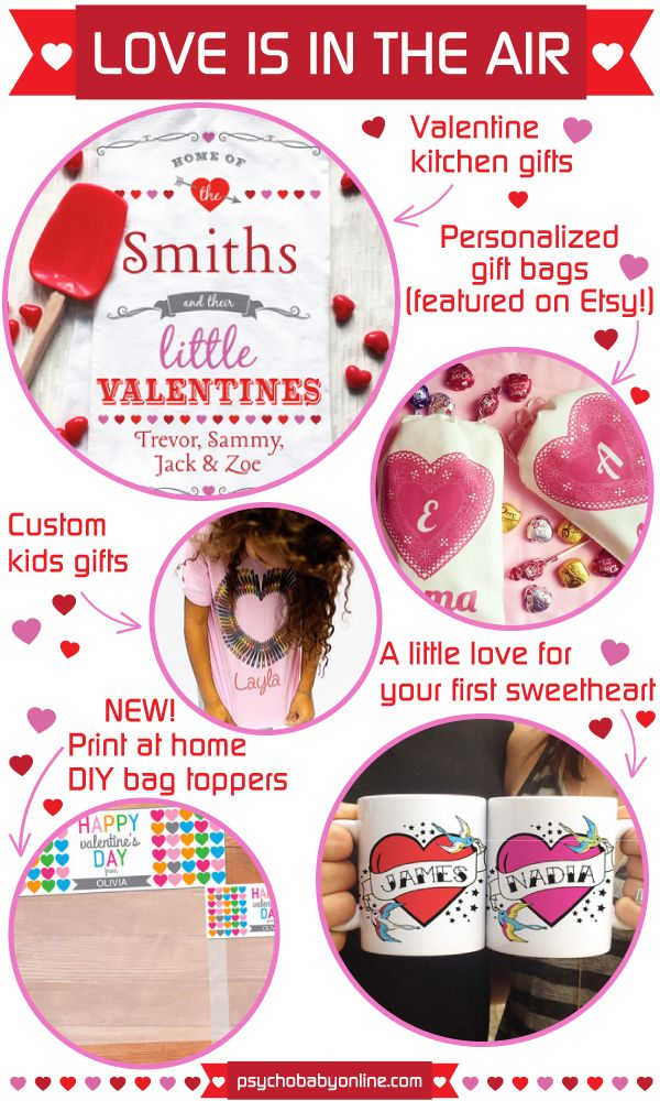 Valentine's Day gift ideas for babies, kids and families