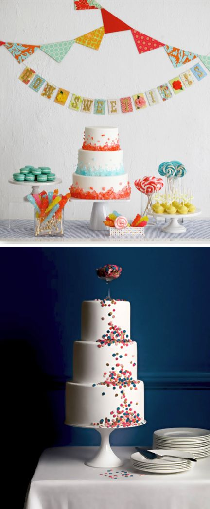 cake decorating with candy :) fun idea... i'd use skittles