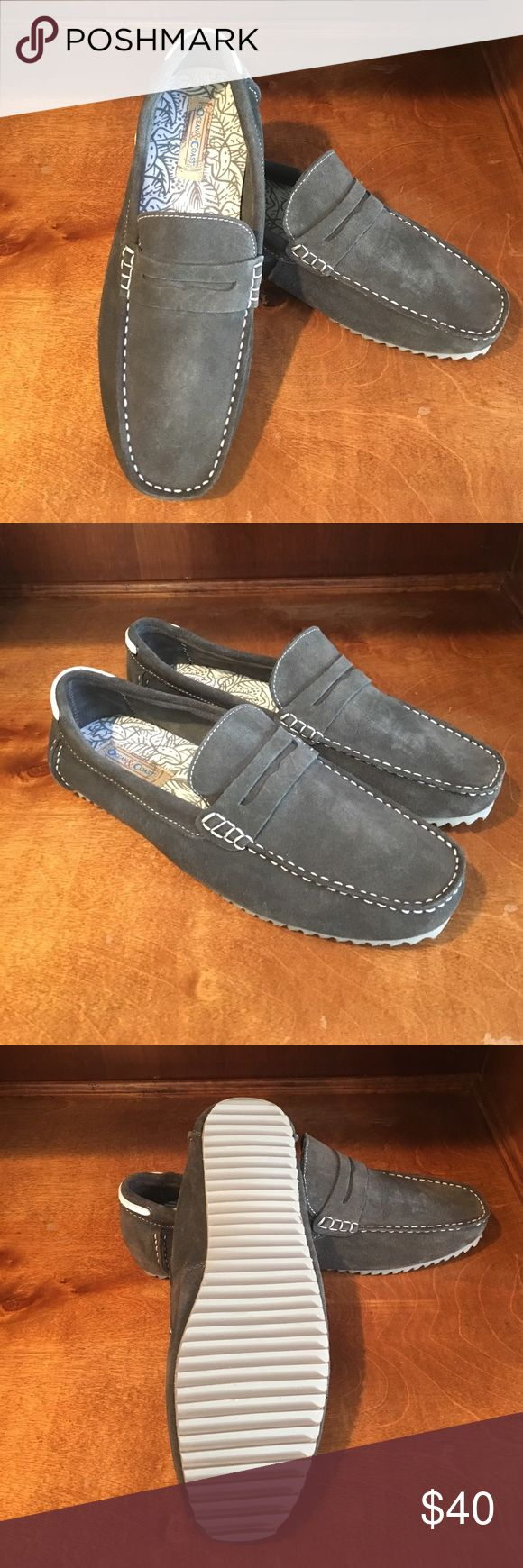 Ocean & Coast Casual Loafers Soft gray suede casual loafers size 10.5. Never worn. Great spring/summer shoes! Does not come with shoe box. ocean & coast  Shoes Loafers & Slip-Ons