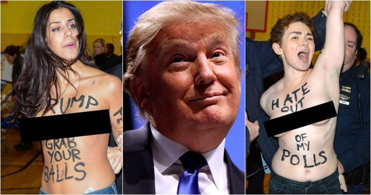 Trump Gets The Last Laugh After Idiot FemiNazis Crash His Polling Place